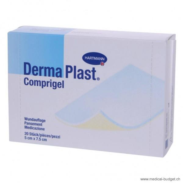 DermaPlast Comprigel 7,5x10cm compresse vulnéraire stérile p.à 10 sachets