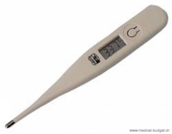 Thermomètre médical digital Assistent 3315 imperméable, affichache LCD