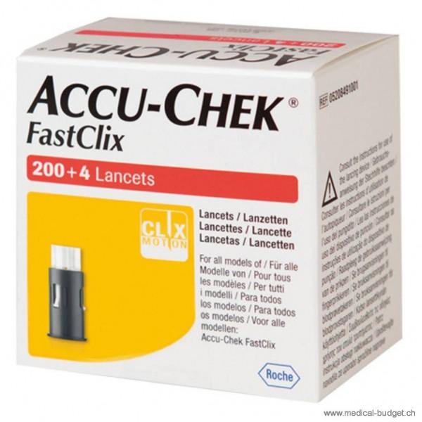 Accu-Chek FastClix Lanzetten P.à 34x6